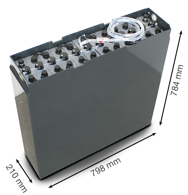 Тяговая аккумуляторная батарея Санлайт 24V 465Ah