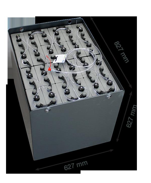 Тяговая аккумуляторная батарея Вентура 48V 625Ah