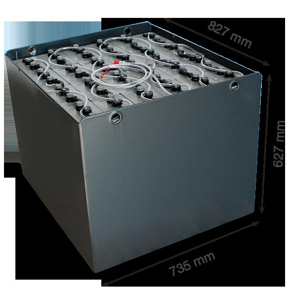 Тяговая батарея EXIDE 48V 750Ah